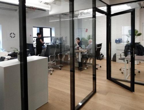 Офисные перегородки TP 38/D 40 в New York