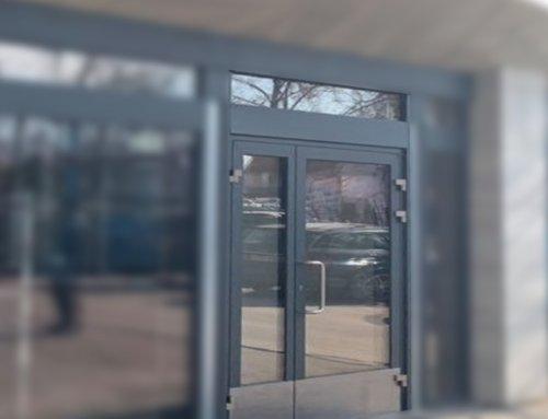 Residence Standart как входная группа | Внешняя панель RAL 7016DE | Внутренняя панель RAL 7016DE